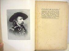 Ceremonies Unveiling an Equestrian Statue of Gen. George Custer   Michigan  1910
