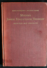 Modern Jewish Educational Thought  Problems and Prospects