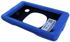 Cover for NUVI 3597lmthd Faux Suede Blue Case Made in the USA by GizzMoVest LLC