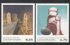 Denmark 2007 Modern Art /Contemporary/Painting/Artists 2v set (n35632)