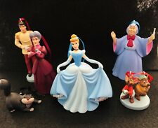 Disney's Cinderella 6pc Christmas Ornament Set Mice Lucifer Evil Stepmother