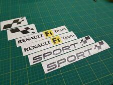 RENAULT CLIO TWINGO MEGANE SPORT COPPA RS GT 225 182 Trophy F1 Decalcomanie Adesivi