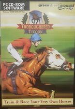 THOROUGHBRED TYCOON PC CD-ROM RARE GREENSTREET FANTASY CDROM COMPUTER GAME HORSE