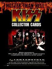 Kiss Collector Trading Cards Series I Dealer Sell Sheet Sale Ad 1997