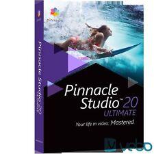 Pinnacle studio ultimate 20 FULL VERSION + KEY – E-DOWNLOAD – MILTILANGUAGE