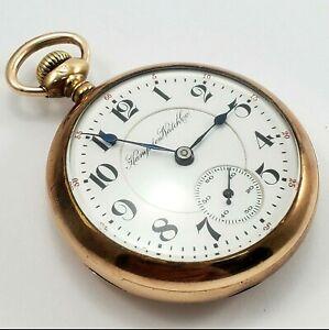 Antique 1909 Pocket Watch Dueber/Hampden 15 Jewel Model 3 18s
