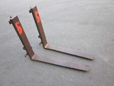 Satz Gabelzinken, Staplergabeln Gabelstapler Stapler  (Nr.5 Länge 108 cm)