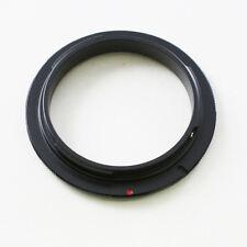 55mm Objektiv Makro Adapter Ring Umkehrring Umkehr Makroring für Canon EOS EF 6D