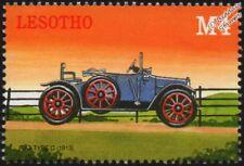 1913 FIAT Type 0 (Tipo Zero) Mint Automobile Car Stamp (2000 Lesotho)