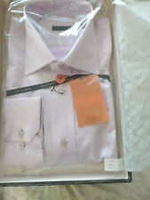 Equilibrio Men Long Sleeve Shirt - Light Pink Size L