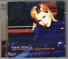 "DOUBLE CD ALBUM SAM FOX WATCHING YOU, WATCHING ME ""SAMANTHA FOX"""