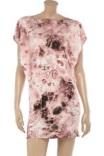 JEAN-PIERRE BRAGANZA Mars FLORAL ROSE printed jersey dress