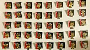 Vintage Collection of Peter David Super Bowl Collector Pins Super Bowls 1-40