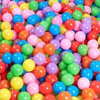 300pcs 5.5cm Baby Kid Pit Toy Game Swim Pool Soft Plastic Ocean Ball US Stock