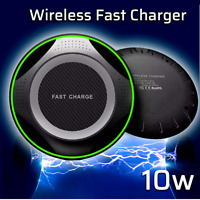 Fast Charger 10W Qi Wireless Charging Pad For iPhone 12 Pro Max 11 XR Samsung