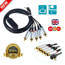 New Component Audio Video AV TV HDTV Cable Lead Cord for Sony PSP Slim 2000/3000