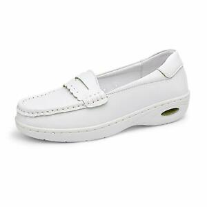 DREAM PAIRS Women Lightweight Breathable Slip On Loafers Restaurant Work Shoes