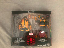 Marvel Legends Exclusive Hydra Set Enforcer Brute and Hydra Soldier SEALED