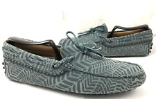 Tod's Men's Size 6.5 Gommini Slip On Driving Loafers Leather Shoes Reg $495