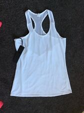 Noli White Gym Yoga Vest Size M