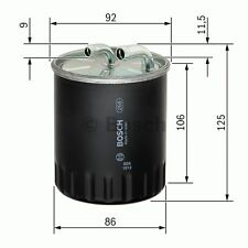 Fuel Filter 1457434437 Bosch 05174056AA 6460920001 6460920301 6460920501 N4437