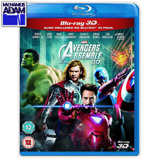 MARVEL - AVENGERS ASSEMBLE Blu-ray 3D + 2D (REGION FREE)