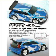 Titan BLITZ C30 1/10 MINI Clear Body Shell #60903 (RC-WillPower) On-Road Sedan