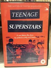 DVD:  TEENAGE SUPERSTARS - The Sound of Young Scotland (2018) C86 / 53rd & 3rd