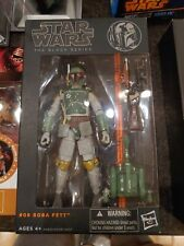 "New Authentic Star Wars 6"" The Black Series #06 Boba Fett 2013 Orange Line"