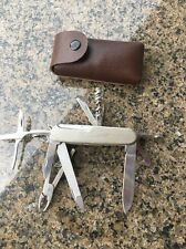 Pocket Knife 15-In-1 STAINLESS STEEL made in china Leather Carrying Pouch