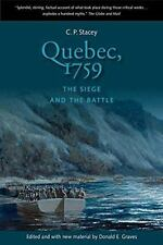 Quebec, 1759: The Siege and the Battle (Paperback or Softback)