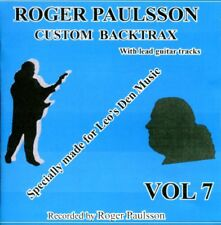 ROGER PAULSSON'S 'SHADOWS STYLE' BACKING TRACKS CD  Vol.7   With & without lead.