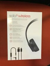 Summer SALE  Beats Solo 3  Wireless Headphones Black beat SEALED