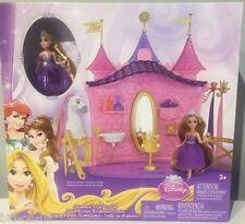 NEW Disney PRINCESS Shimmer Style Salon includes Rapunzel Doll