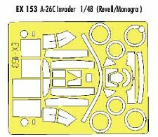 Eduard 1/48 Douglas A-26C Invader paint mask for Revell / Monogram # EX153