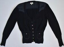 Karen Millen England Cardigan Sweater Pullover Top Black Women's 4