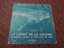 mini 33 tours selection du reader's digest le chant de la baleine