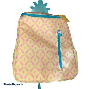 Backpack bag pineapples bag-backpack linen