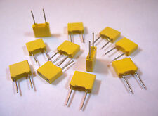 50 pcs THOMSON .033uF (33nF) 63V 10% METALIZED POLYESTER BOX CAPACITOR -USA SHIP
