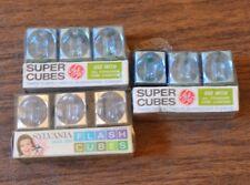 three flashcube - supercube packs Sylvania General Electric USA