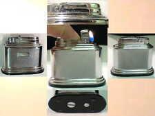 Briquet Ancien - Silver Match Table déco Chrome - Lighter Feuerzeug Accendino