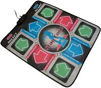 Orb Gaming Retro Dance Mat, Gold-Red, Blue