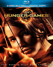 THE HUNGER GAMES Blu-Ray 2-Disc Set Nice Shape