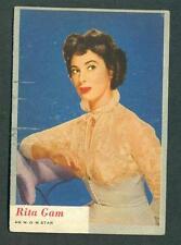 1953 TOPPS WHO Z AT STAR # 60 RITA GAM  VG  SET BREAK