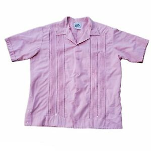 """""""Lizeth"""" size 42 eur., XL US, Short Sleeve, Pink Made in Mexico"""