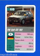 [GCG] SUPERCARTINE - SCHMID - Figurina-Sticker n. 6B - VW GOLF GTi 16 V