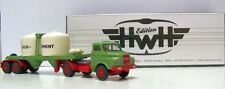 "Special Viking Model: Man 13.230 Hauber Silo Semitrailer "" Cement "",Reseda Green"