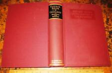 A SOURCE BOOK IN GEOLOGY by Mather & Mason 1939 Famous Geological Works Minerals