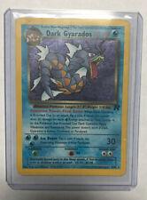 DARK GYARADOS Prerelease - 8/82  - Holo Rare  - Pokemon - Team Rocket Good Condi