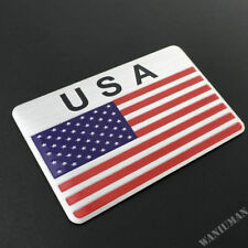 American USA Flag Emblems Badge Decal Sticker Car Auto Trunk Motorcycle Tank
